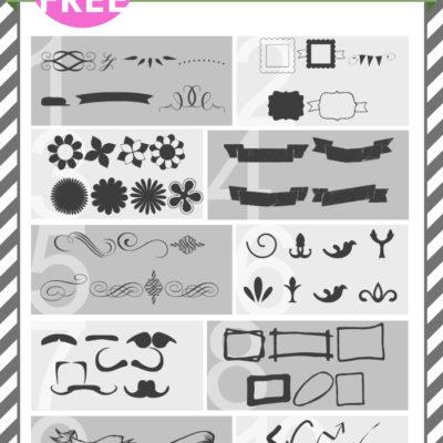 free FONT friday | dingbat / illustrated font favorites