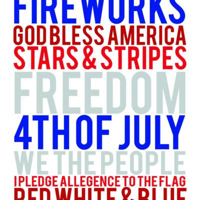 4th of July printables | 4th of July | 4th of July decorations | 4th of July ideas | free printable