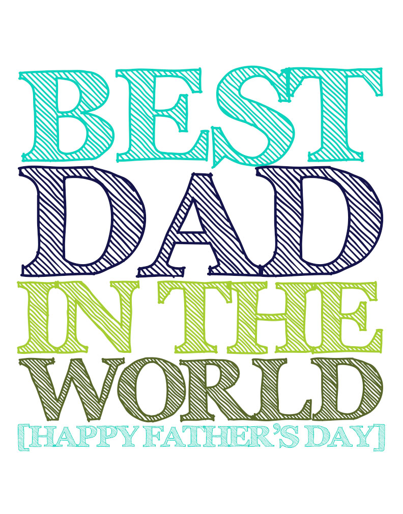 Father's Day is around the Corner!!! Help make dad's day even more special with these fun, creative Father's Day Printables.