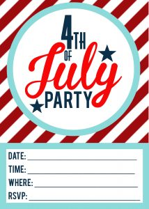 fourth of July Invitations_1