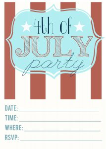 fourth of July Invitations_3