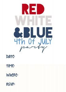 fourth of July Invitations_5