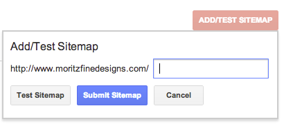 how to submit a sitemap to google