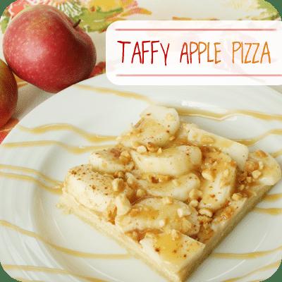 Taffy Apple Pizza | Yummy Fall Dessert