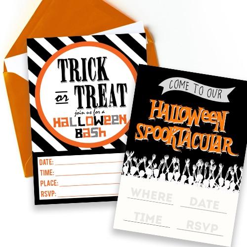 Halloween Invitation Free Printables
