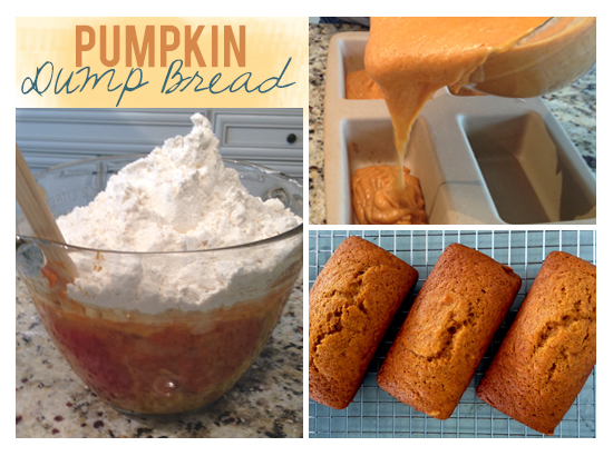 Pumpkin Dump Bread