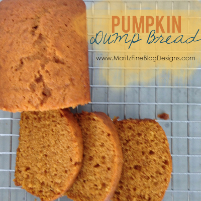 Pumpkin Dump Bread | Easy for kids to make!