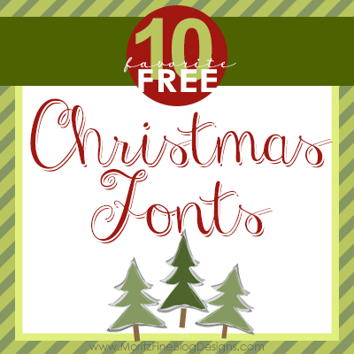 Top 10 Best Christmas Fonts | Free Font Friday