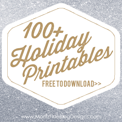 100 free holiday printables free printables included