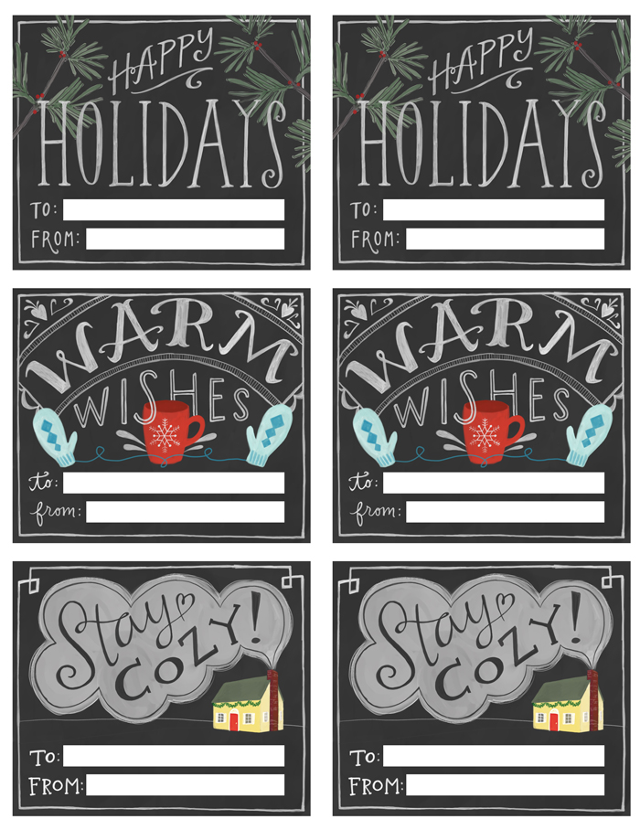 This is a photo of Dynamic Printable Chalkboard Labels