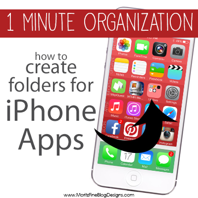 A New iPhone Organizer & how to organize your iPhone Apps in folders