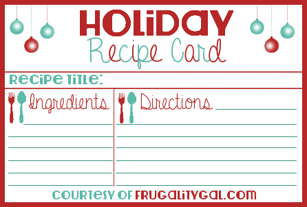 Recipe Holiday Cards | Minted