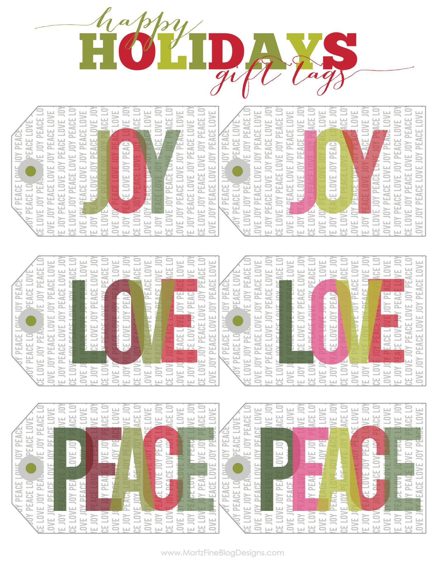 This is a picture of Impeccable Holiday Gift Tags Printable
