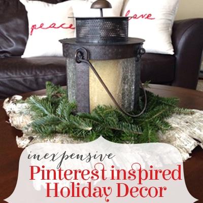 Pinterest Inspired Christmas