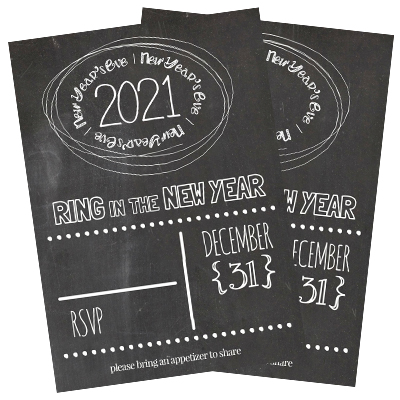 New Year's Eve Party Free Invitation
