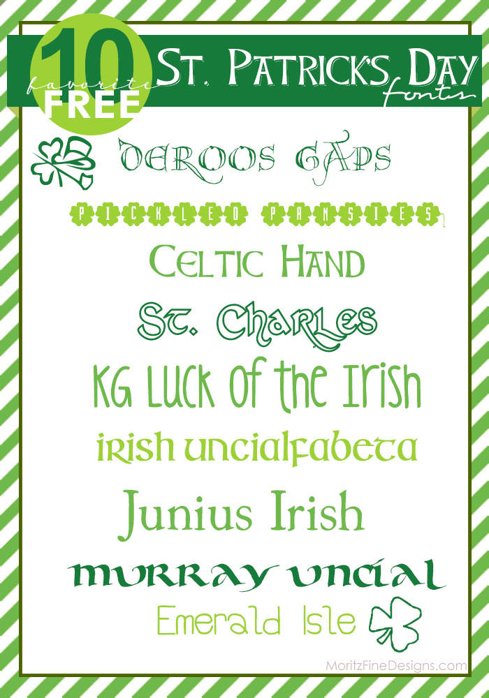 Best Free St. Patrick's Day Fonts