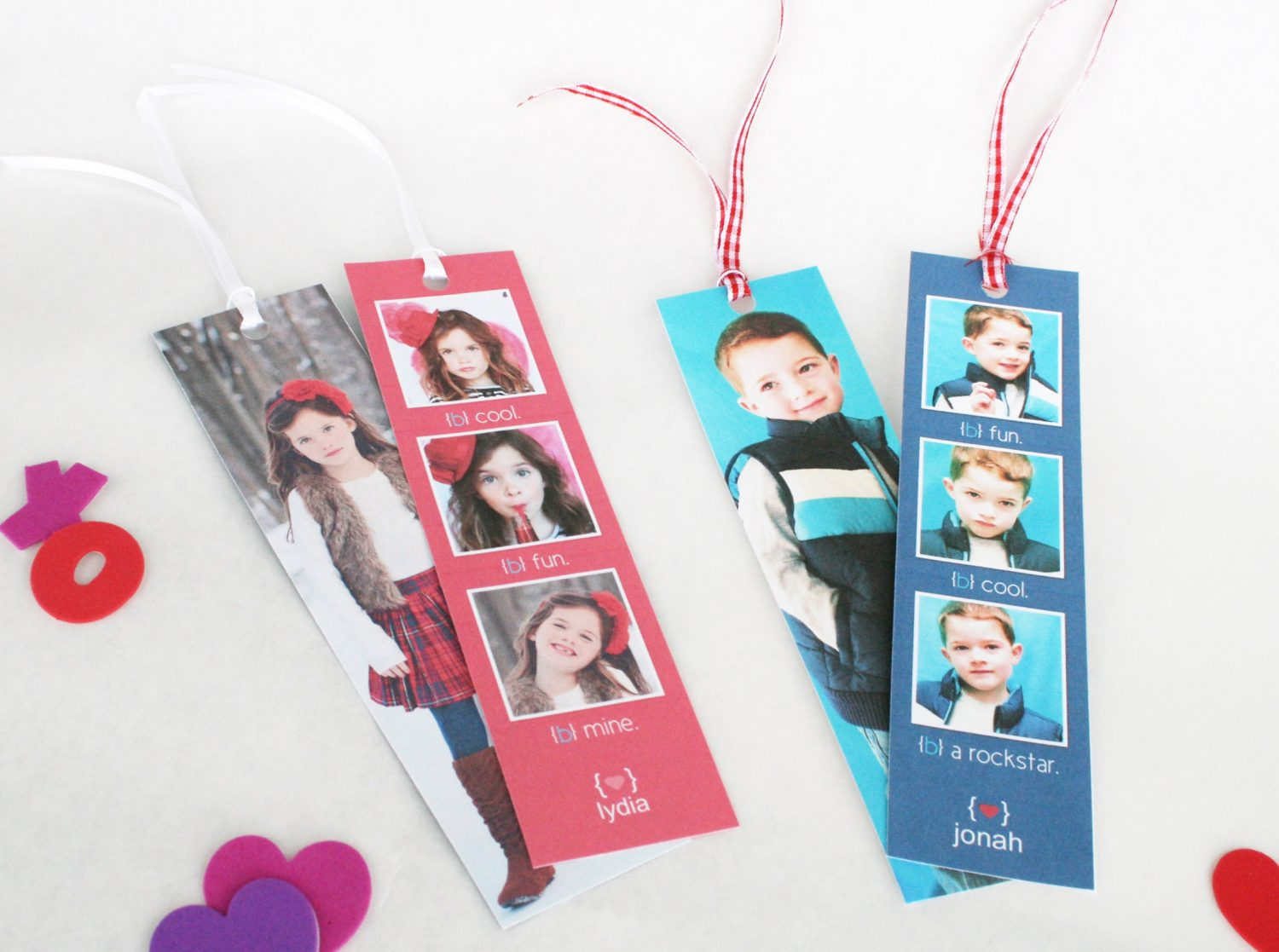 Diy adorable valentine bookmarks valentine project to for Diy bookmarks for guys
