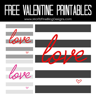 Lovely Valentine Printables