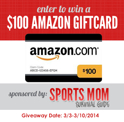 Sports Mom Survival Guide $100 Giveaway
