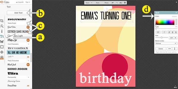 DIY Customizable Birthday Invitations