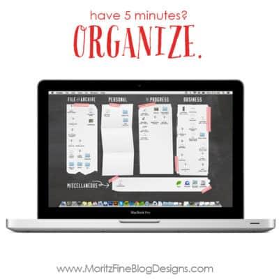 desktop organization | organize your computer | organize your PC | computer wallpaper | free download