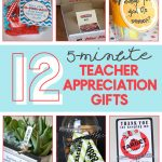 teacher appreciation gifts | quick teacher gift ideas | free printables | last minute teacher gifts