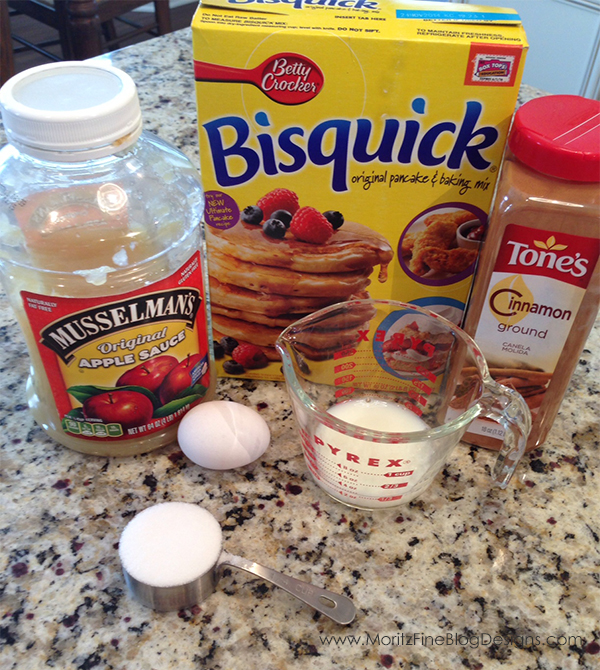 easy to make applesauce muffins