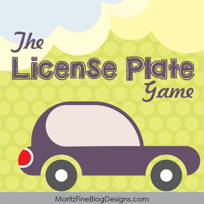 License Plate Game Free Printable for Kids