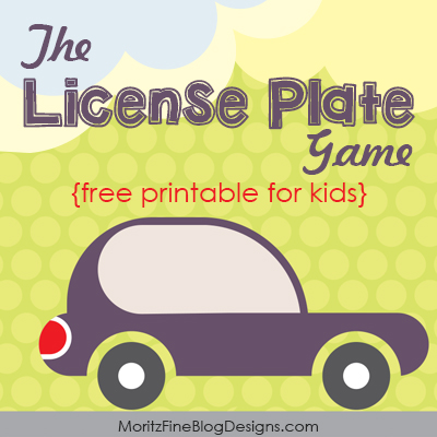 photo about Printable License Plate Game identify License Plate Match for Young children No cost Printable Involved