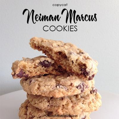 Copycat Neiman Marcus Cookies