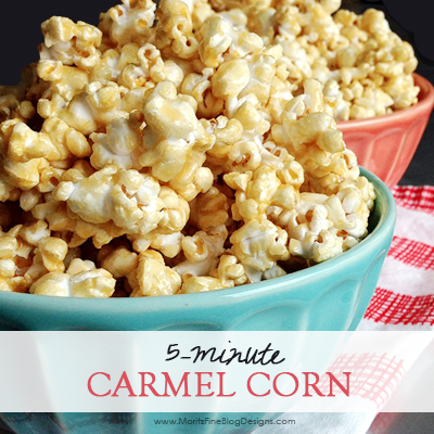 5-minute Caramel Corn