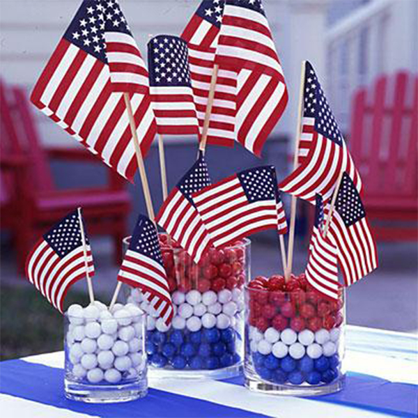 Diy quick 4th of july decorations for 4 of july decorations