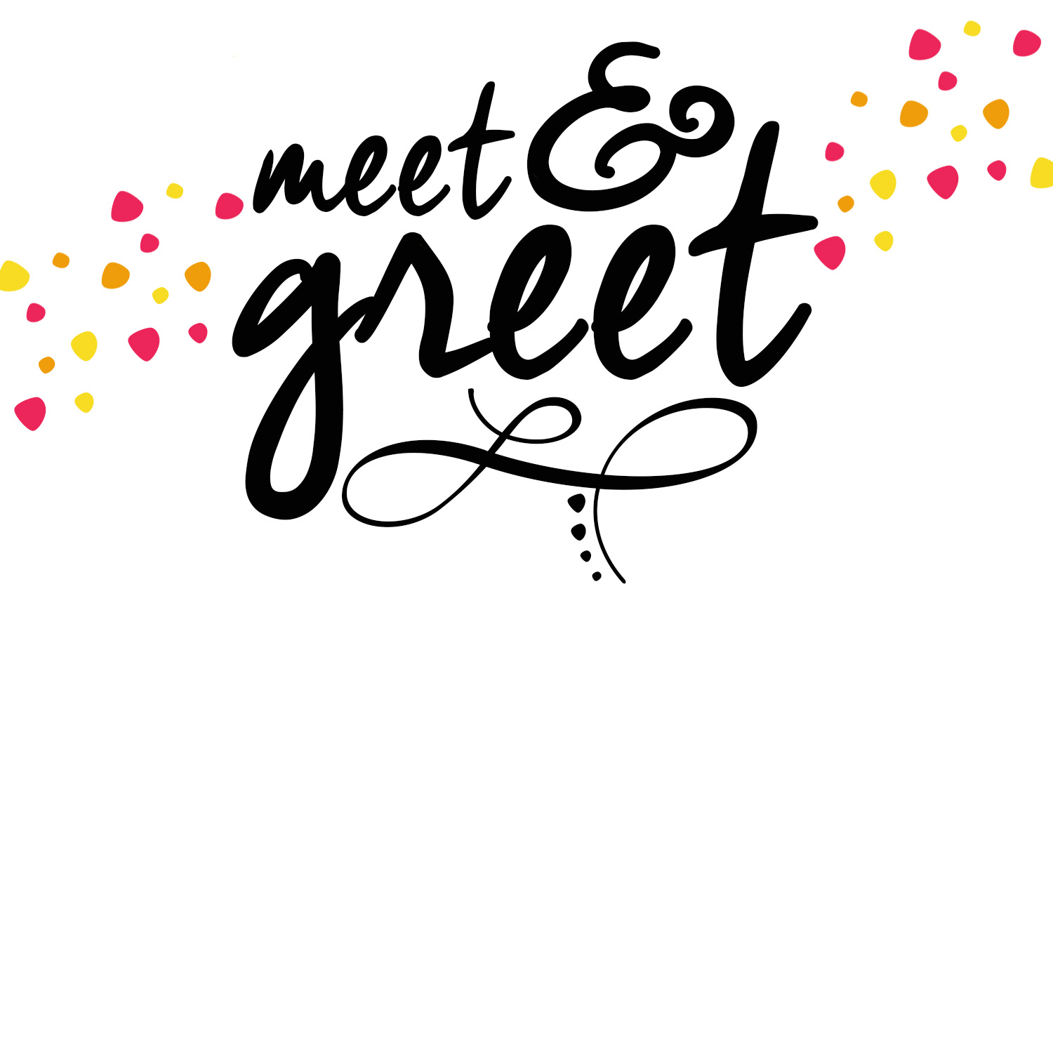 greet printable invitation meet greet printable invitation