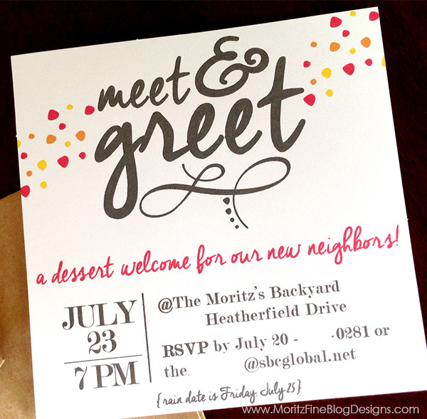 Meet greet free printable invitation meetgreetvite m4hsunfo