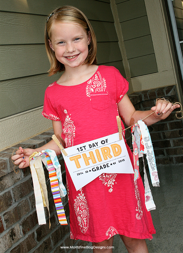 First Day of School Printable Sign