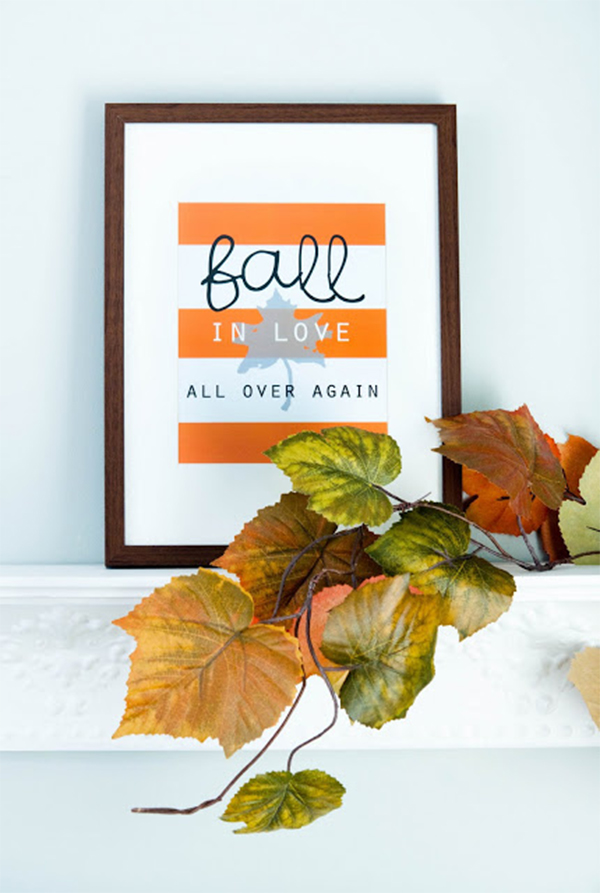 Free Fall Home Printables   Friday Favorite 5