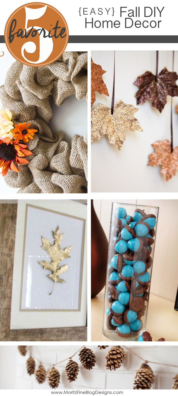 Easy diy fall home decorations for Easy diy fall decorations
