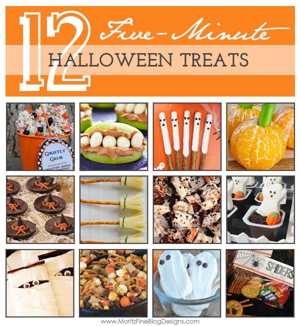 {12} 5-minute Halloween Treats