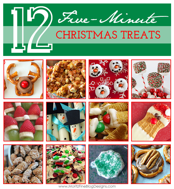 {12} 5-minute Christmas Treats