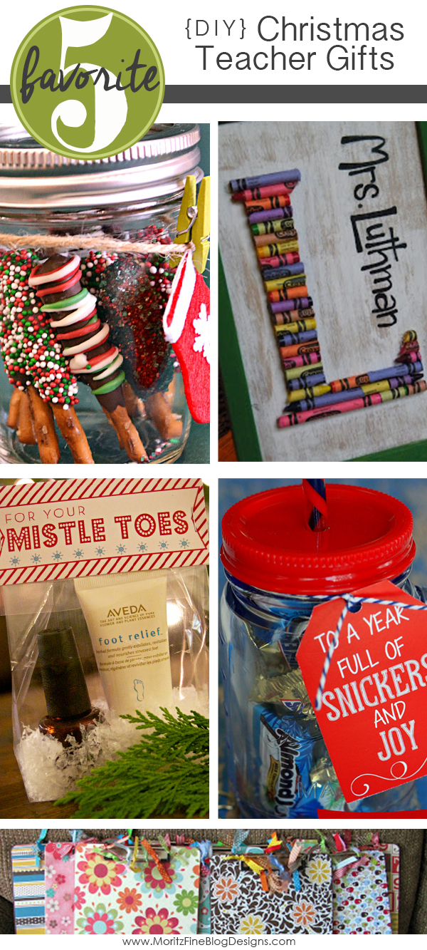 DIY Teacher Christmas Gifts | Christmas Gift Ideas