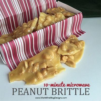 10-Minute Microwave Peanut Brittle