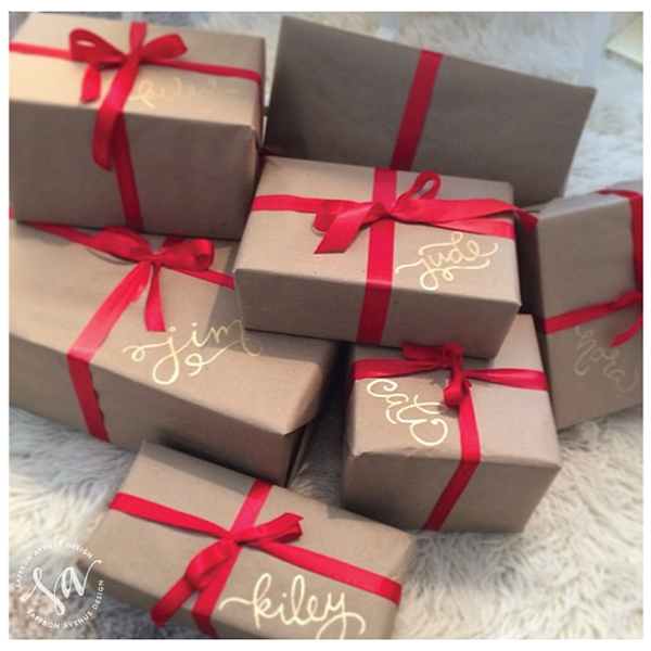Easy Kraft Paper Wrapping Ideas