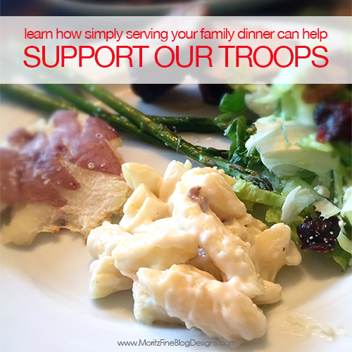 Support our Troops with Marie Callender's Frozen Meals