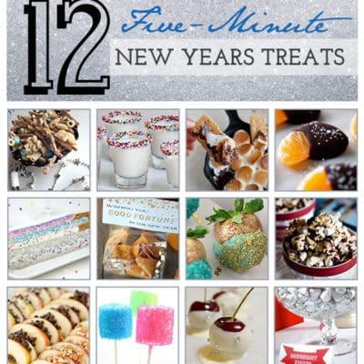 {12} 5-minute new-years treats