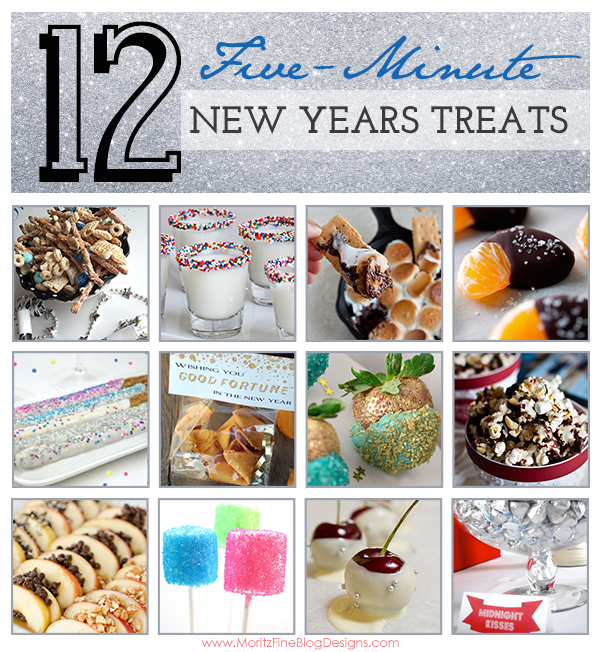 {12} 5-minute new-years treats