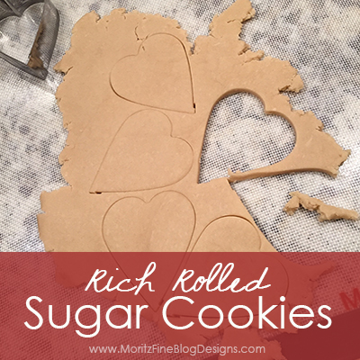 Rich Rolled Sugar Cookies