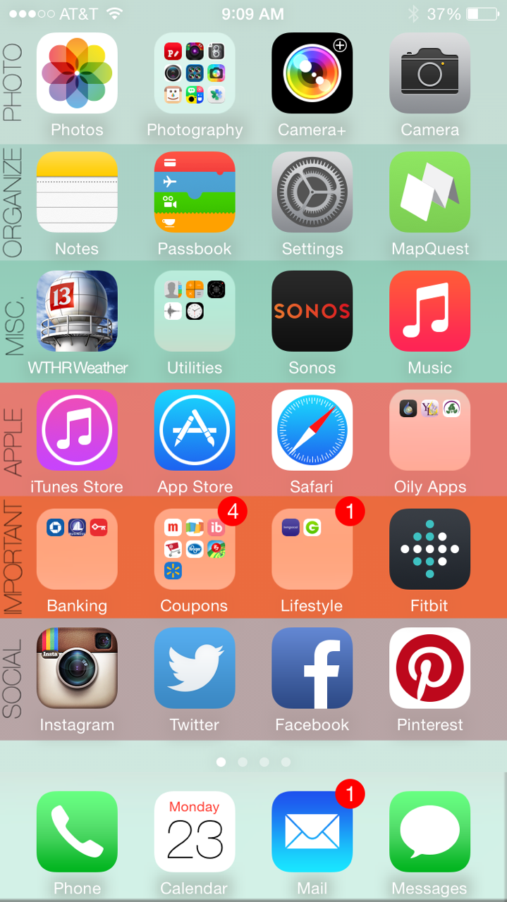 How to organize your iphone in 5 minutes or less free for New app ideas for iphone