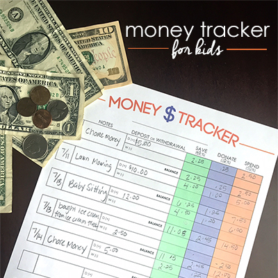 Money Tracker for Kids