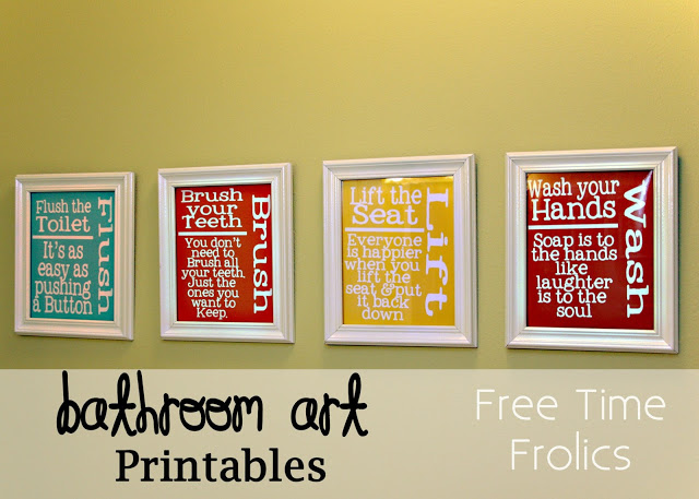 photograph regarding Free Printable Wall Art for Bathroom named Totally free Printable Rest room Artwork Free of charge Printable Bundled