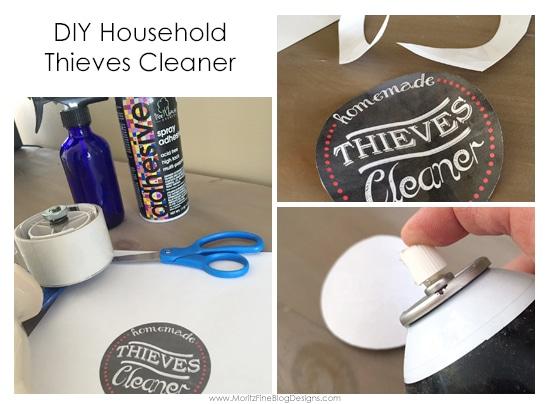 Diy Household Cleaner Printable Label Free Printable
